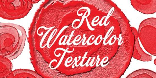 free_watercolor_red_texture_patches_png