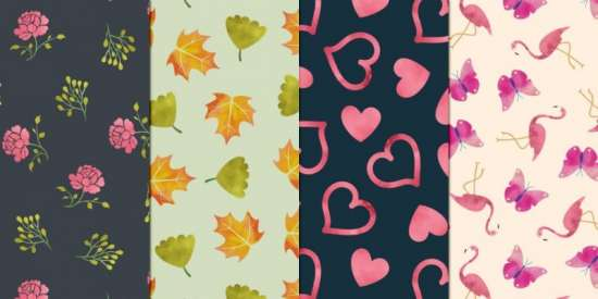 free_watercolor_seamless_patterns_png
