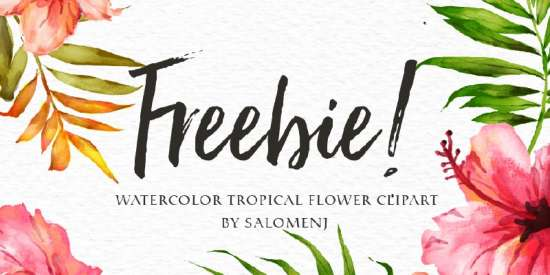 free_watercolor_tropical_flower