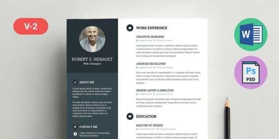 freemium_resume_template_psd