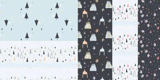 hand_drawn_seamless_winter_patterns_jpg