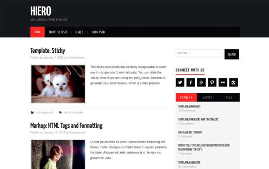 hiero_free_wordpress_theme