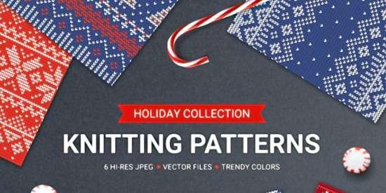 knitting_seamless_patterns_eps_jpg