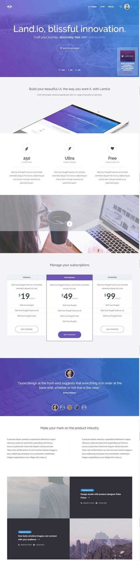 land_io_ui_kit_html_landing_page_template