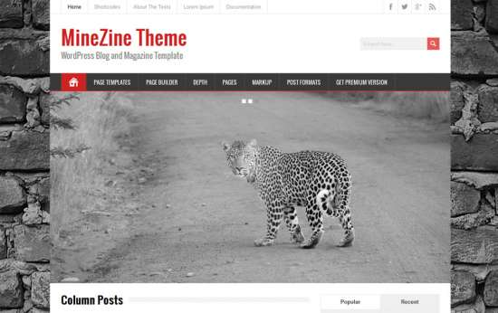 minezine_free_wordpress_theme