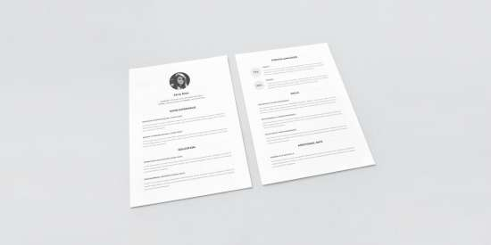 minimal_resume_template_psd_word