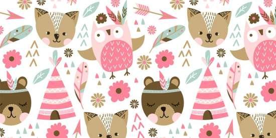 pink_animals_pattern_eps_jpeg