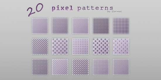 pixel_patterns_for_photoshop_pat