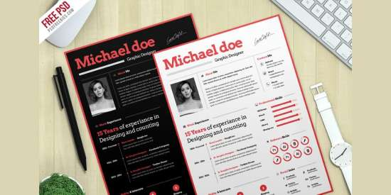 simple_cv_resume_template_psd