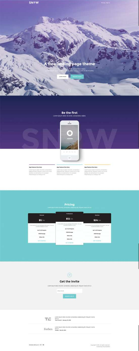 snow_free_bootstrap_landing_page_theme
