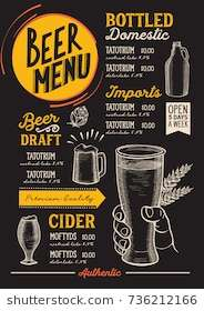 beer_drink_menu_for_restaurant_and_café