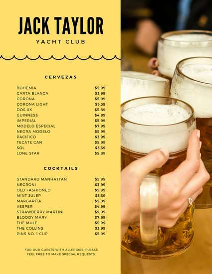 yellow_and_beer_photo_drink_menu