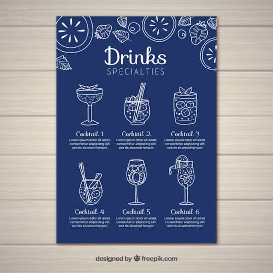 cocktail_menu_template_in_flat_style