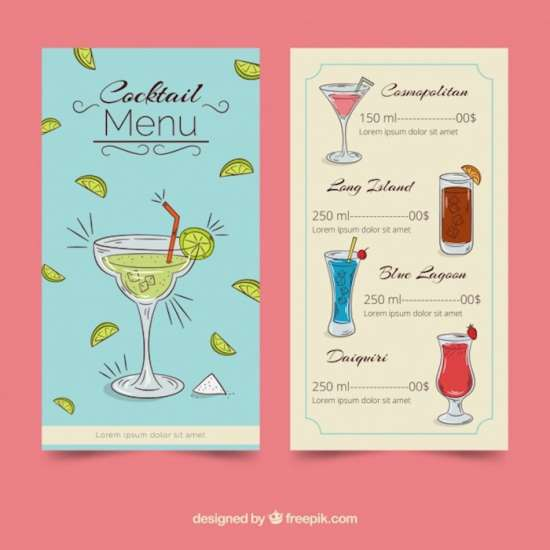 creative_cocktail_menu_template