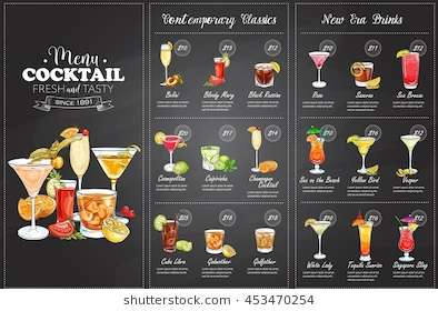 front_drawing_horisontal_cocktail_menu_design
