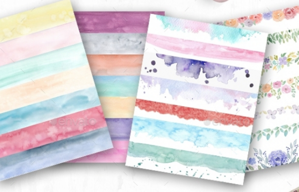 watercolor_elements_for_blog_design