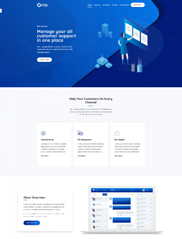 orio_software_web_application_startups_landing_page_template