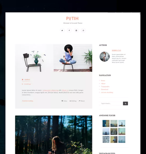 putih_clean_minimal_blogging_tumblr_theme