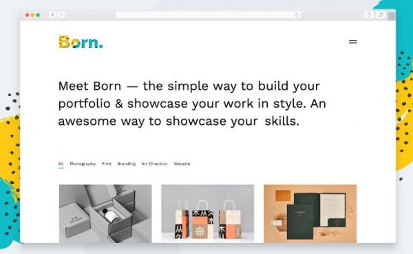 born_minimalist_tumblr_theme_portfolio_tumblr
