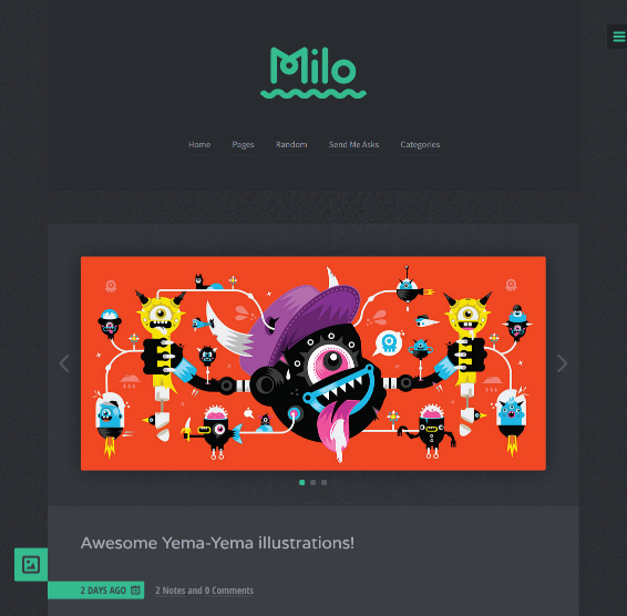 milo_blogging_theme_for_tumblr
