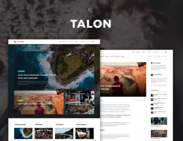 talon_sleek_and_sophisticated_word_press_theme
