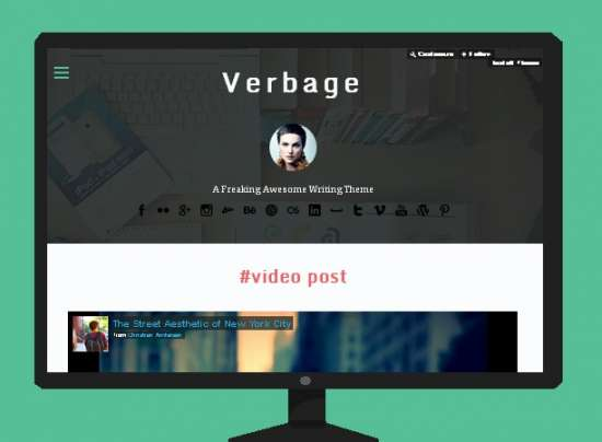 verbage_free_tumblr_theme