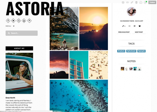 astoria_free_theme