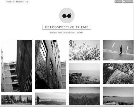 retrospective_free_theme