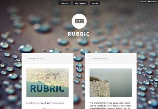 rubric_free_tumblr_theme