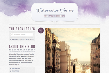 watercolor_free_theme