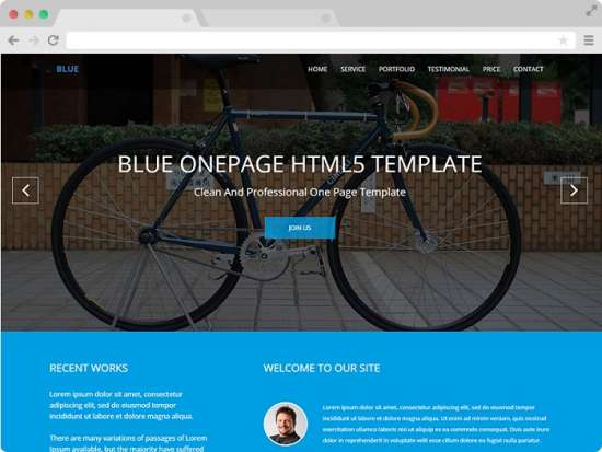 blue_free_one_page_bootstrap_template