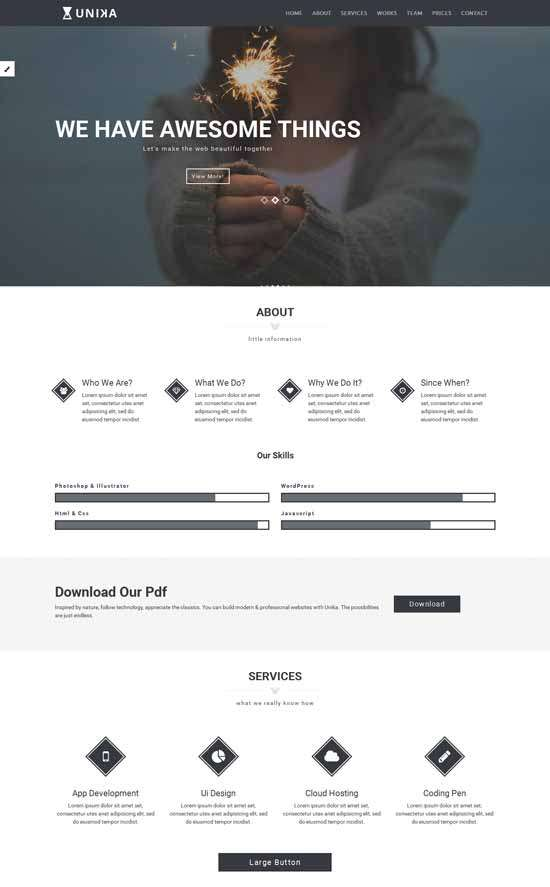 unika_free_responsive_one_page_html5_template