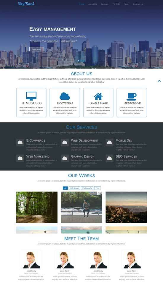 skytouch_free_one_page_bootstrap_responsive_template