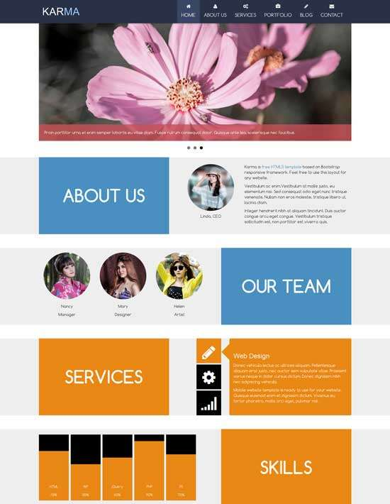 karma_free_responsive_one_page_template