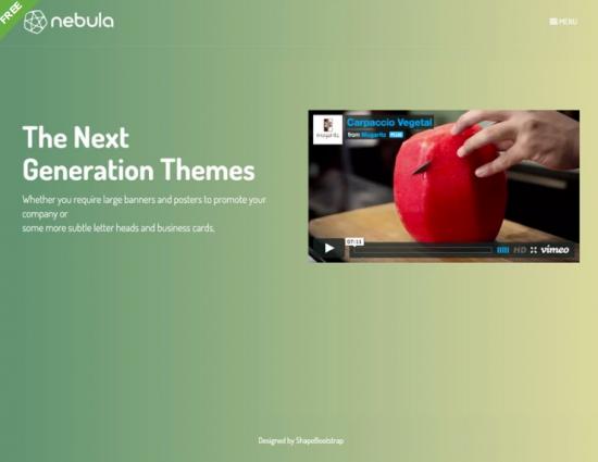 nebula_free_one_page_bootstrap_template