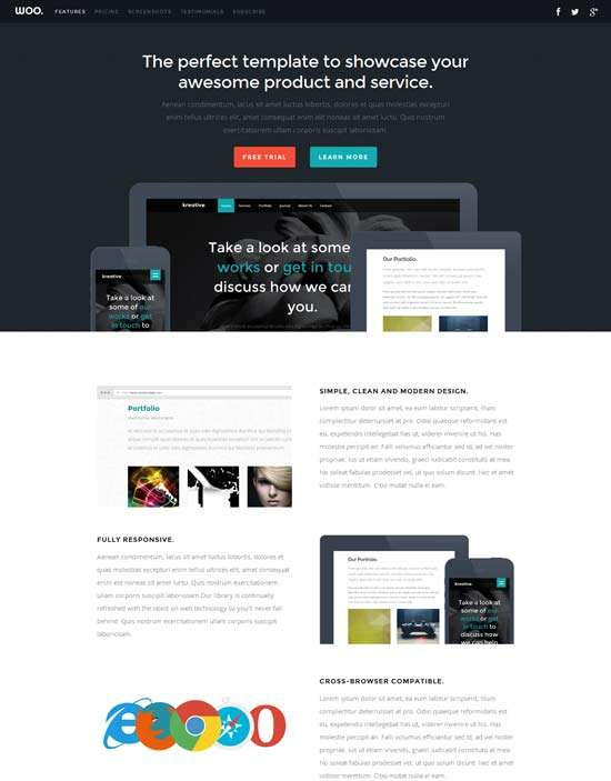 woo_free_responsive_one_page_template