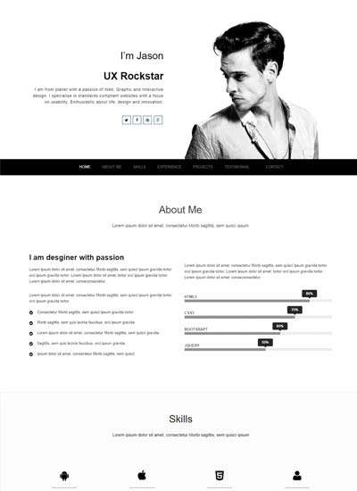 best_free_creative_resume_template_winner