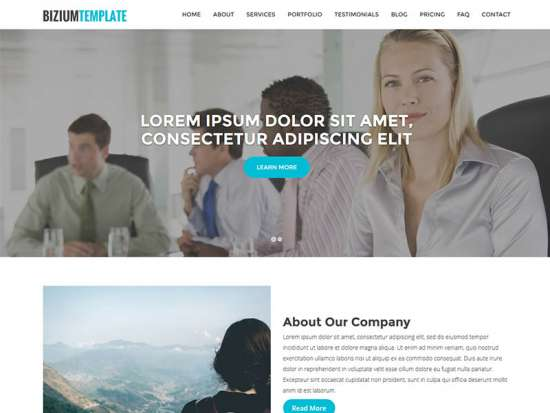 bizium_free_one_page_bootstrap_template