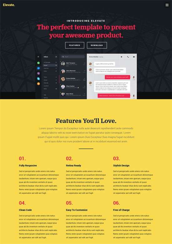 elevate_free_responsive_one_page_website_template