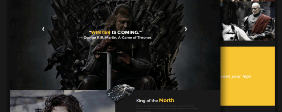 game_of_thrones_responsive_template