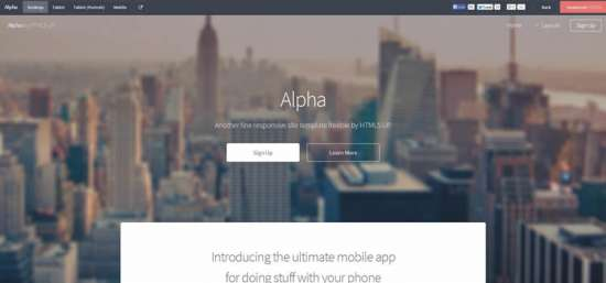 alpha_one_page_website_template
