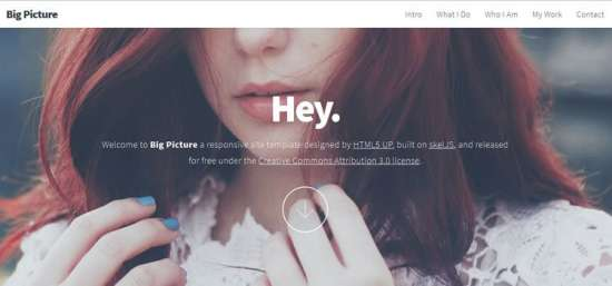 big_picture_one_page_website_template