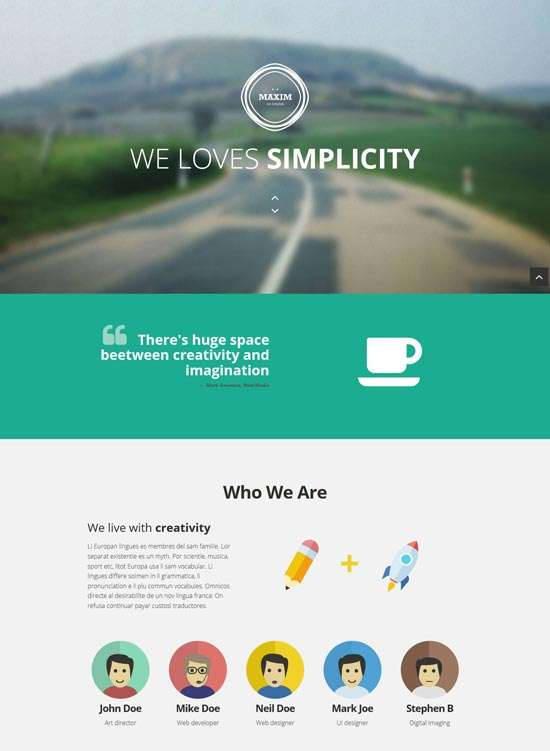 maxim_free_onepage_bootstrap_template