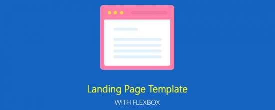 flexbox_responsive_landing_page