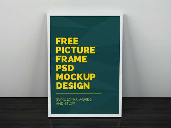 artwork_frame_psd_mockup