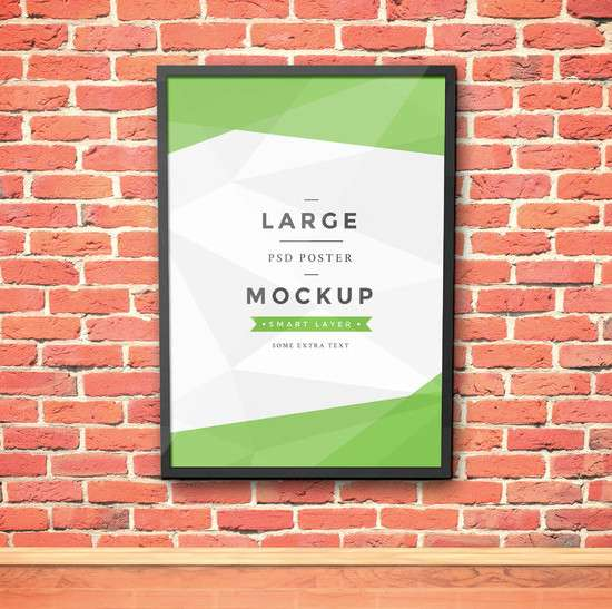 artwork_frame_psd_mockup_vol3