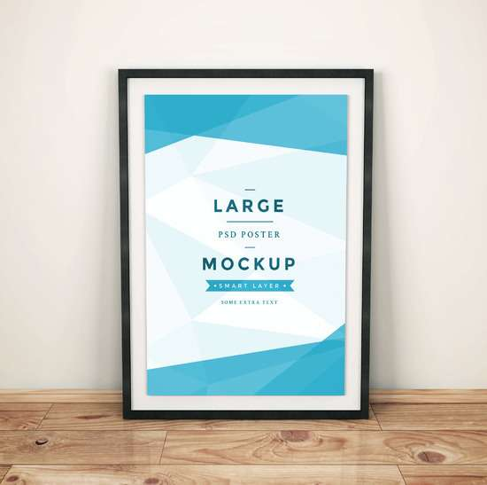 artwork_frame_psd_mockup_vol4