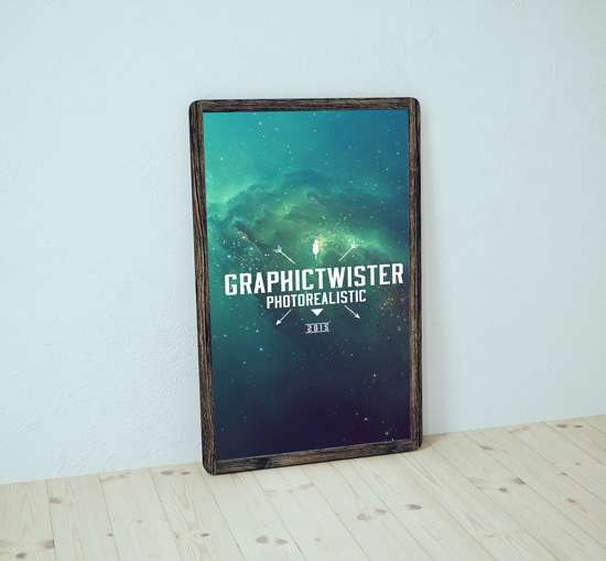 old_wood_poster_frame_mockup