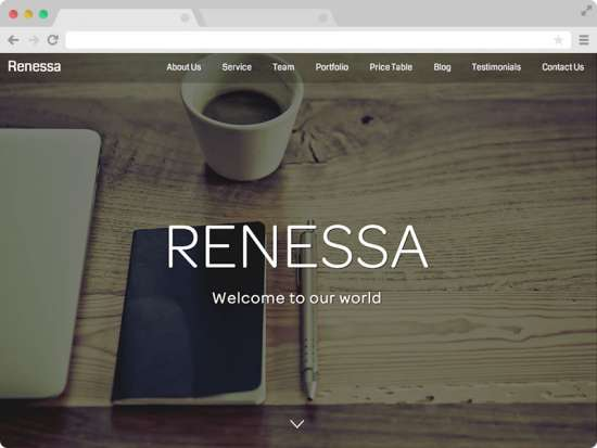 renessa_free_one_page_bootstrap_template