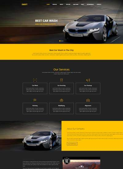 swift_car_wash_html_website_template